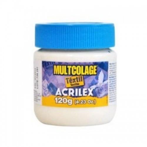 Cola Multcolage Têxtil para Decoupage 120g - Acrilex