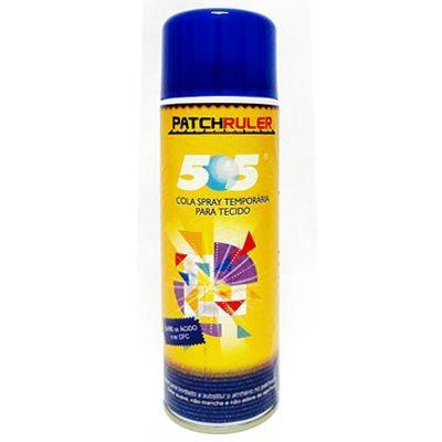 Cola Spray Temporária para Tecido 500ml - Patchruler