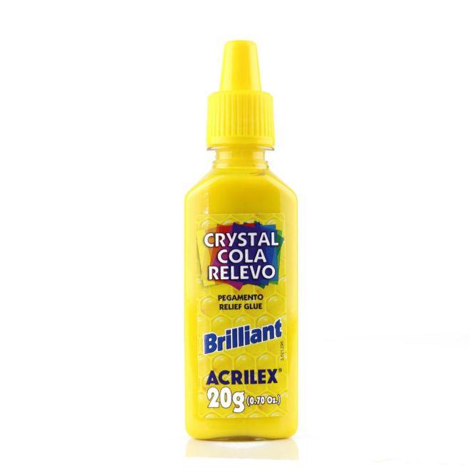 Crystal Cola Relevo Brilliant 20g - Acrilex