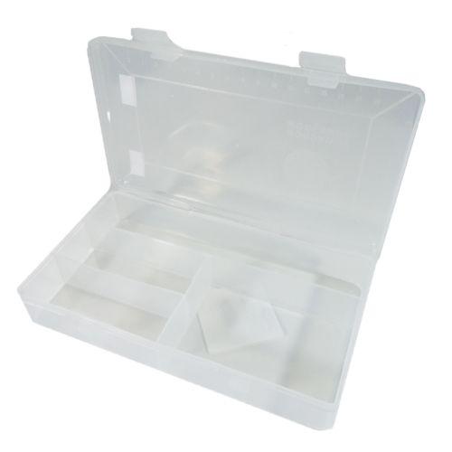 Estojo Plástico Mini Transpararente - Telanipo