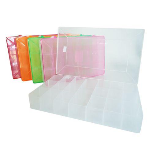 Estojo Plástico Multi Uso Transparente - Telanipo