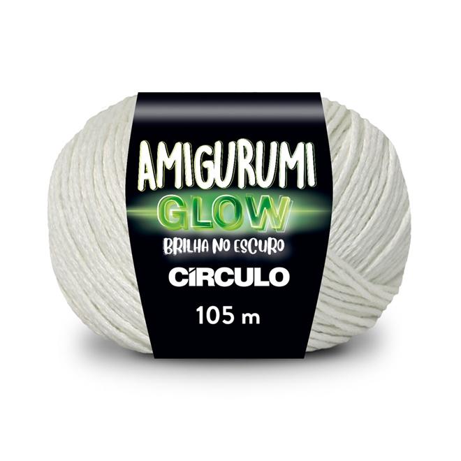 Fio / Linha Amigurumi Glow 50g - Círculo
