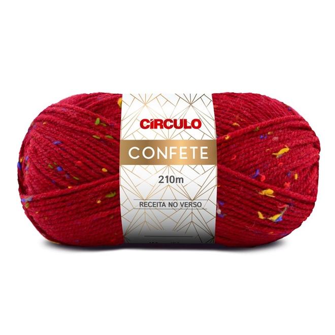 Fio / Lã Confete 100g - Círculo