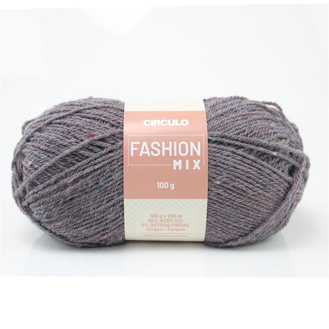 Fio / Lã Fashion Mix 100g - Círculo
