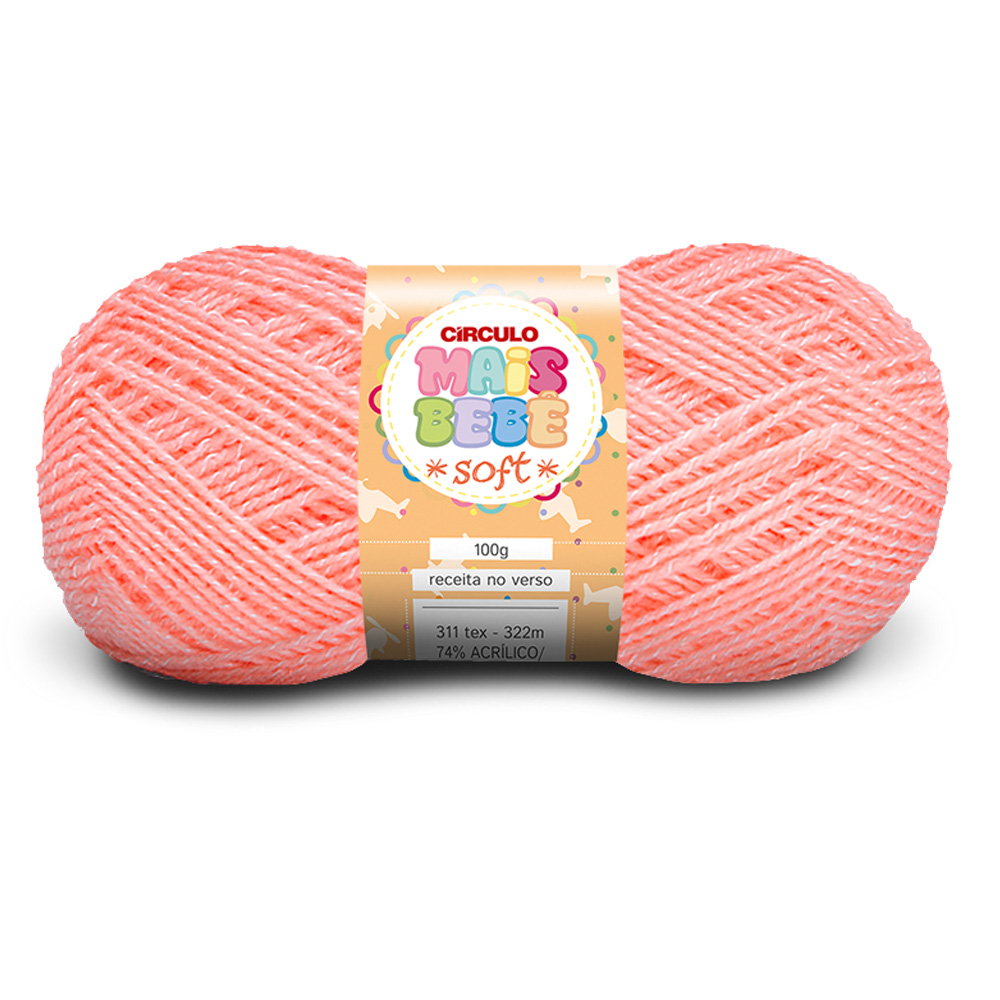 Fio / Lã Mais Bebê Soft 100g - Circulo