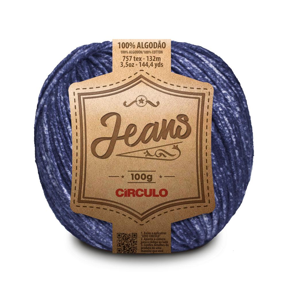 Fio / Linha Jeans 100g - Círculo