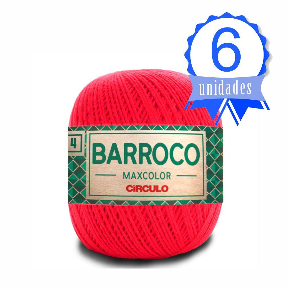 Kit Barroco Maxcolor N04 200g Cor 3501 Malagueta - Circulo c/ 6un.