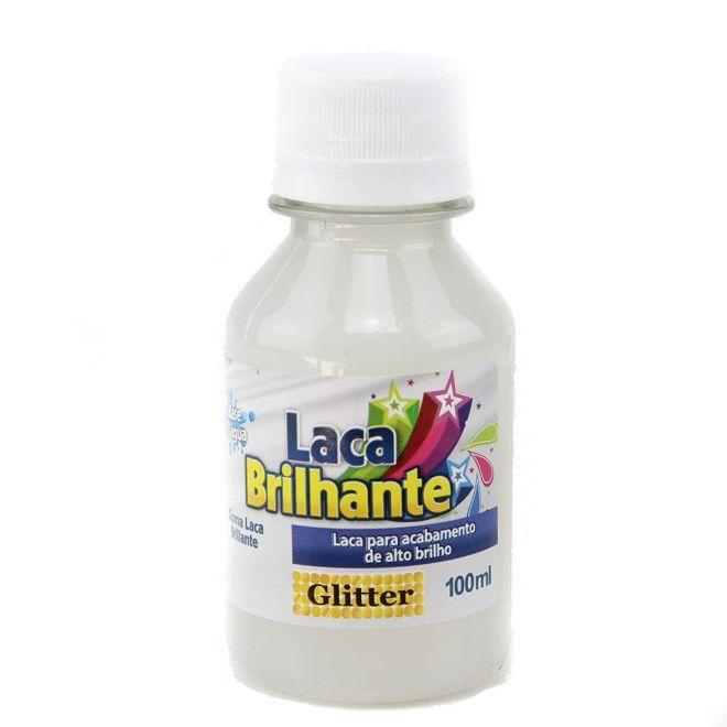 Laca Brilhante 100ml - Glitter