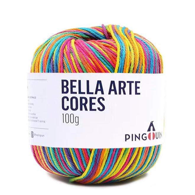 Fio / Linha Bella Arte Cores 100g - Pingouin