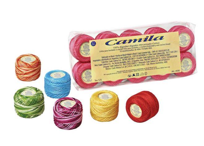 Linha Camila 125m para Crochê Corrente