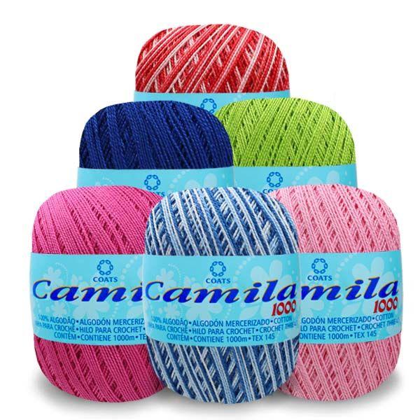 Linha para Crochê Camila 1000mt Corrente