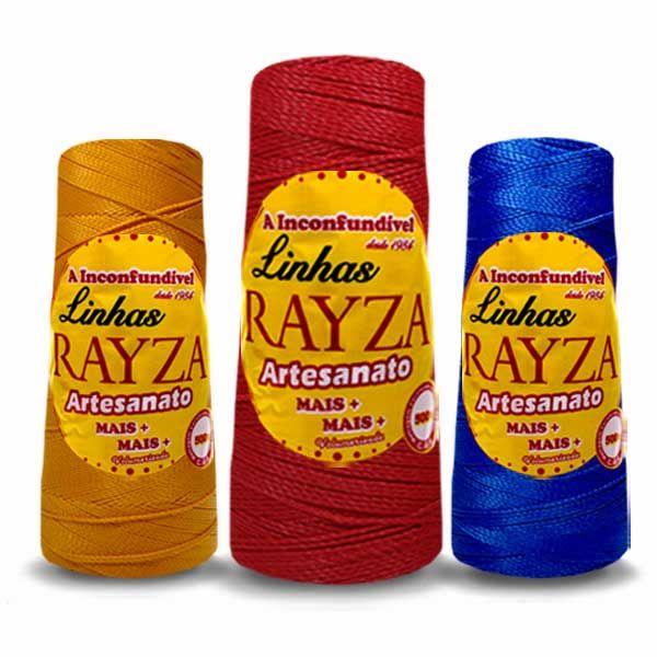 Linha para Crochê Rayza Artesanato Mais +