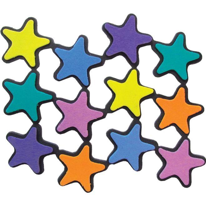 Mini Estrelas em EVA 12 unidades - Grintoy
