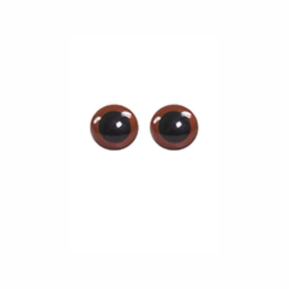Olho para Amigurumi N12 C/ 10 Pares - Círculo