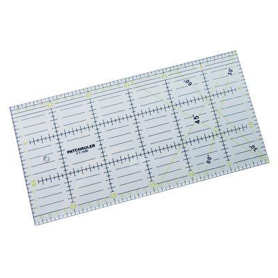 Régua para Patchwork Patchruler 15 x 30cm - Telanipo