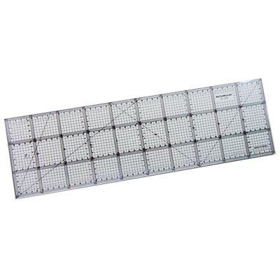 Régua para Patchwork Patchruler 15 x 50cm - Telanipo