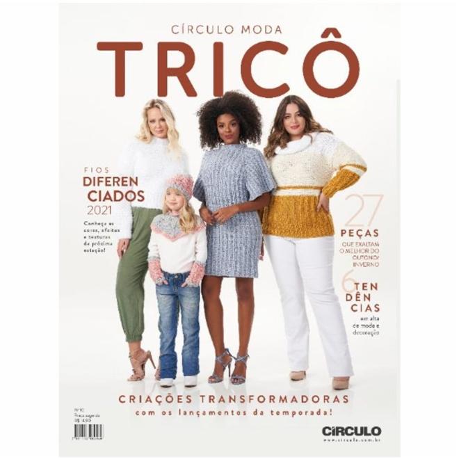 Revista Círculo Moda Tricô Nº 10