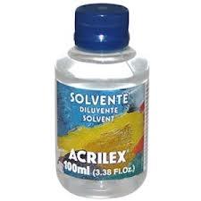 Solvente Pet 100ml - Acrilex