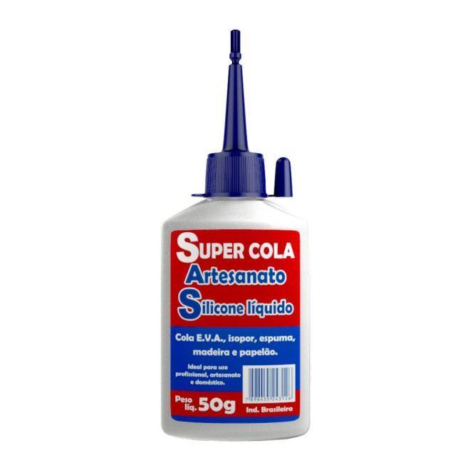 Super Cola Artesanato Silicone Líquido 50g