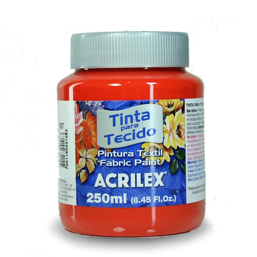Tinta para Tecido Fosca 250ml - Acrilex