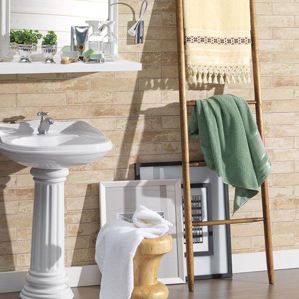 Toalha de Banho para Bordar Sabrine 67 X 135cm - Karsten