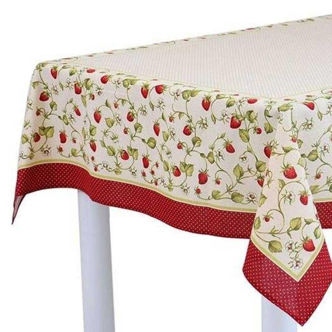 Toalha de Mesa Liliah 78 x 78cm - Karsten