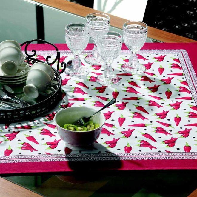 Toalha de Mesa Quadrada Snack Time 78 x 78cm - Karsten