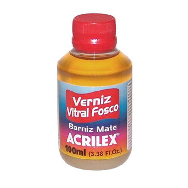 Verniz Vitral Fosco 100ml - Acrilex