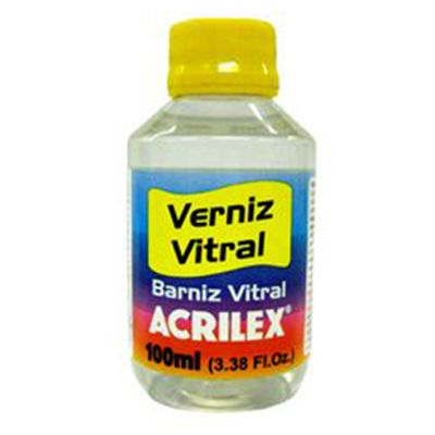 Verniz Vitral Incolor 100ml - Acrilex