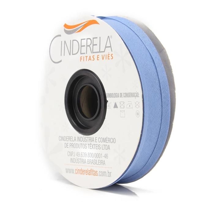 Viés de Algodão Cinderela 25mm c/ 20mts