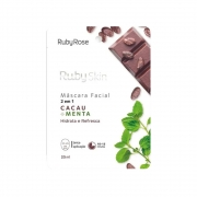 Ruby Rose Máscara Facial Cacau + Menta