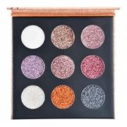 Ruby Rose Paleta de Sombras Glitter Cremoso