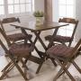Assento de Cadeira Niazitex Kalamar 40 x 40 cm