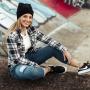 Calça Jeans Mom com Cinto Specific Feminino