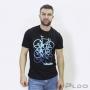 Camiseta de Manga Curta Bike Life Masculina Preto