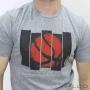 Camiseta Penalty Raiz Basquete Masculina Cinza