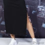 Vestido Canelado Longo LZT Feminino