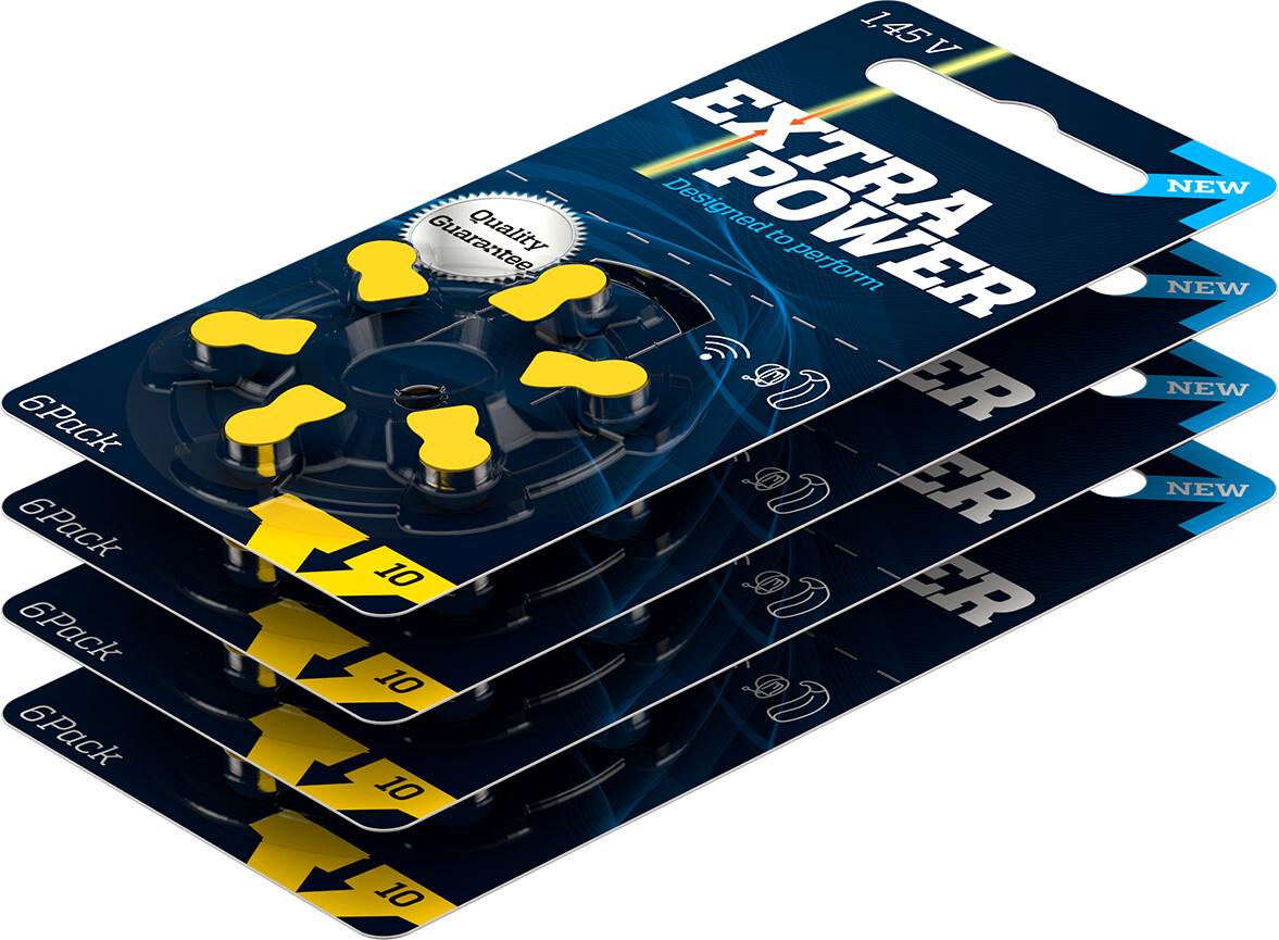Caixa de bateria Extra Power 10 (60 unidades)