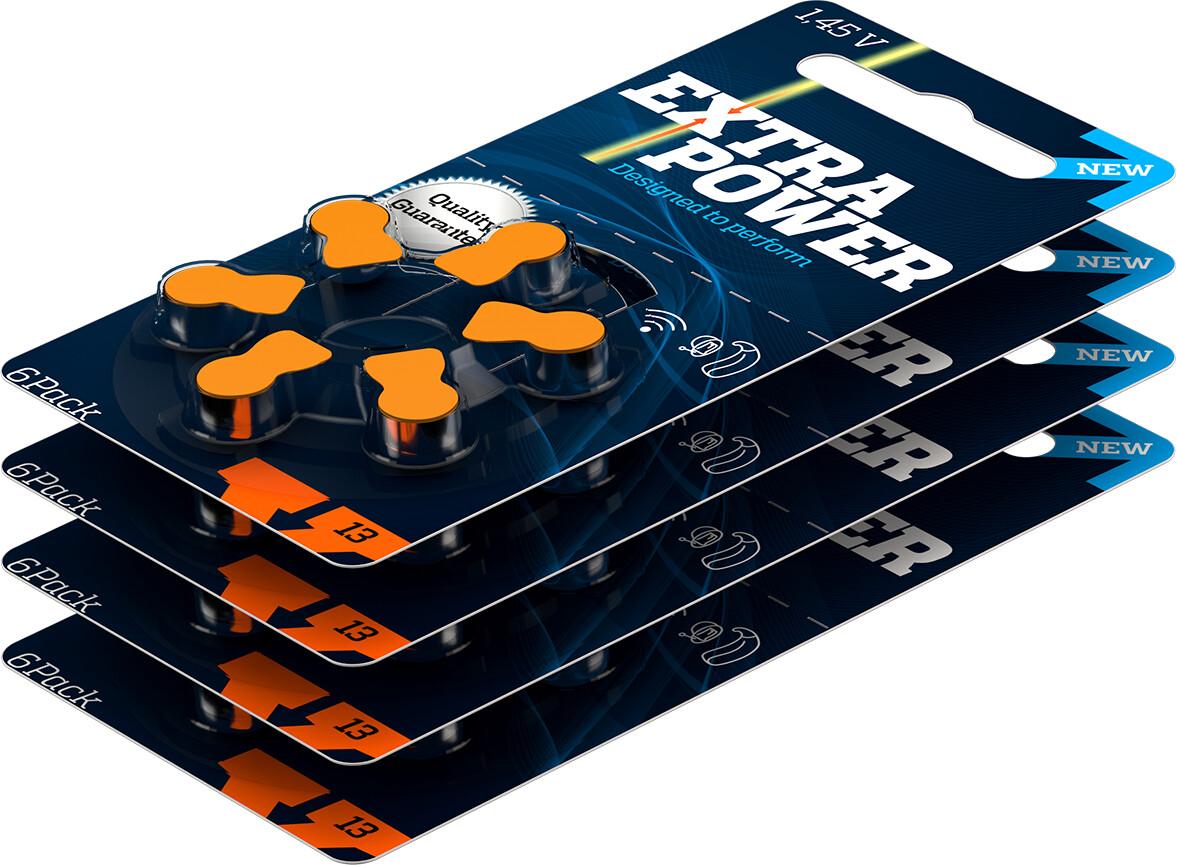 Caixa de bateria Extra Power 13 (60 unidades)