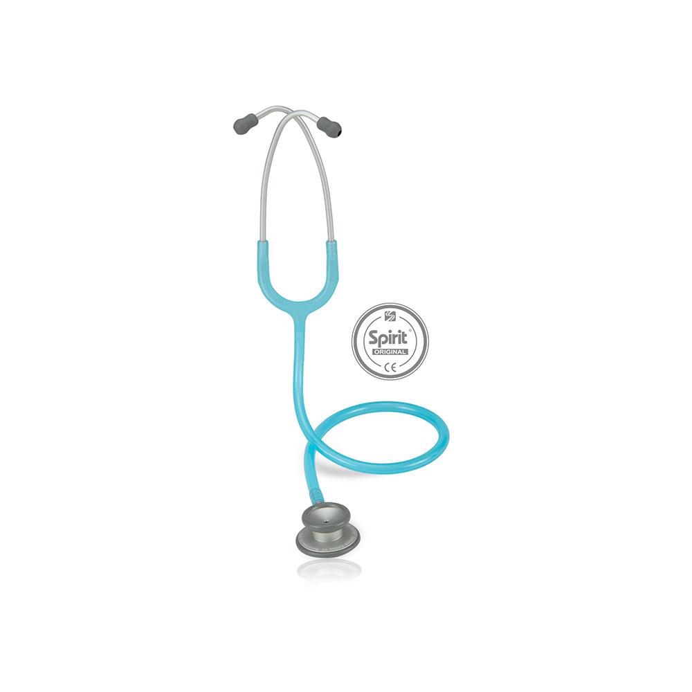 Estetoscópio Spirit® Pro-Lite Adulto - Azul Claro Perolizado