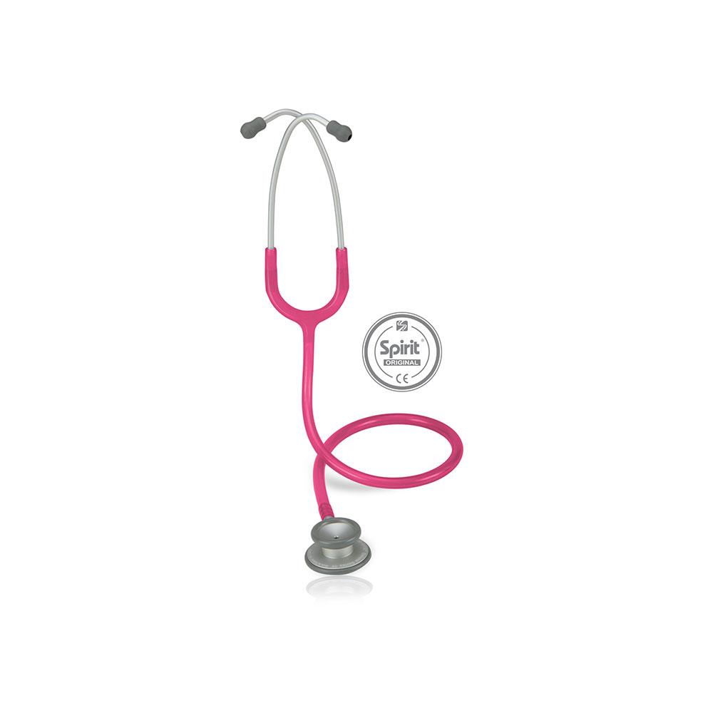 Estetoscópio Spirit® Pro-Lite Adulto - Magenta Perolizado