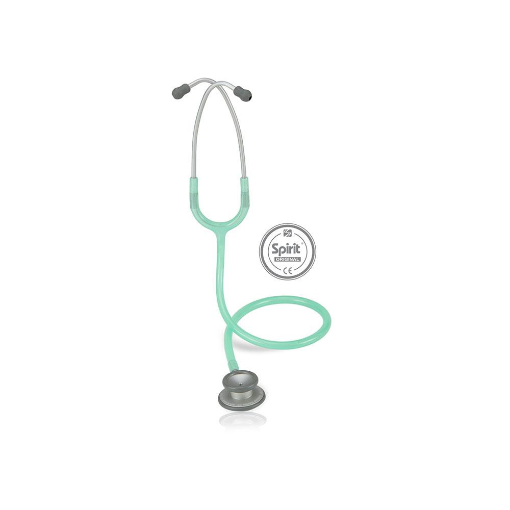 Estetoscópio Spirit® Pro-Lite Adulto - Verde Transparente