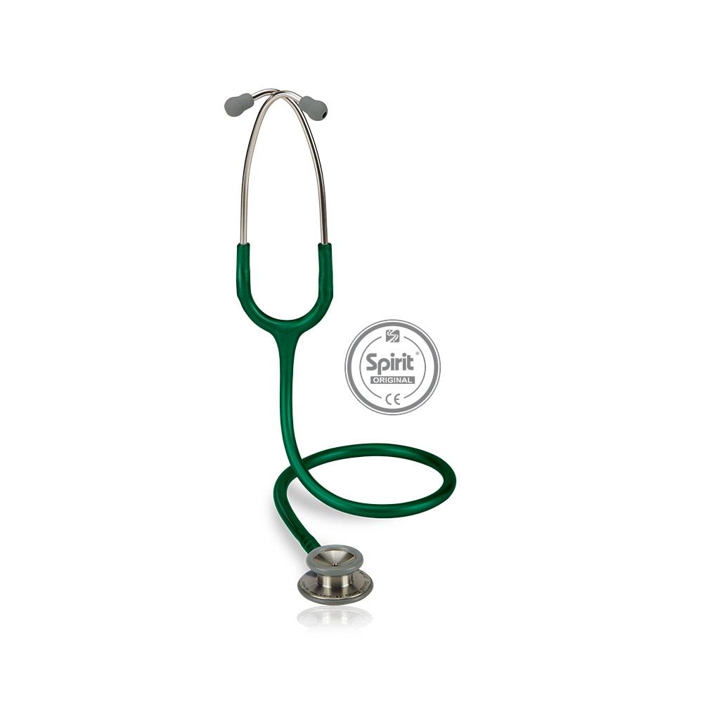 Estetoscópio Spirit® Professional Adulto - Verde Escuro