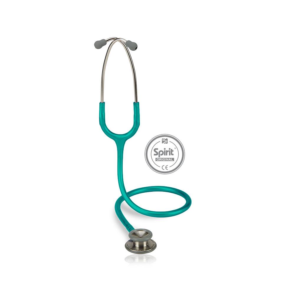 Estetoscópio Spirit® Professional Adulto - Verde Perolizado