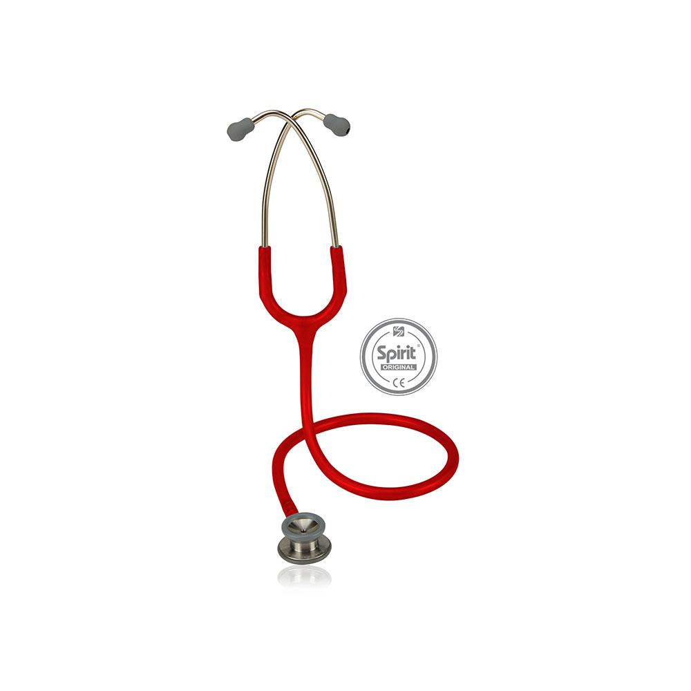 Estetoscópio Spirit® Professional Pediátrico - Vermelho