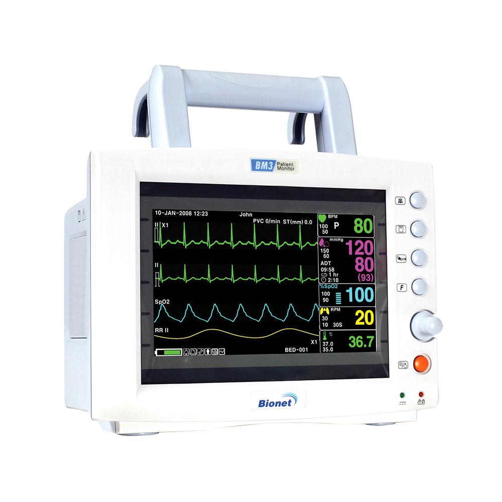 Monitor de Sinais Vitais BM3 Bionet
