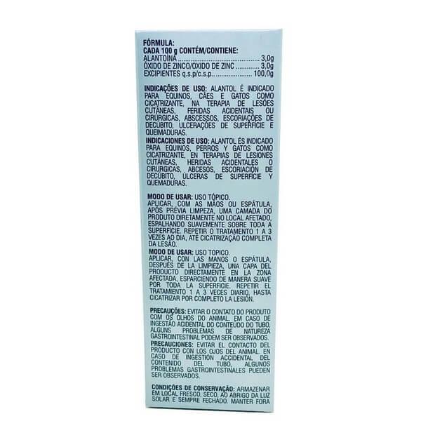Alantol Pomada Cicatrizante Vetnil 60 g