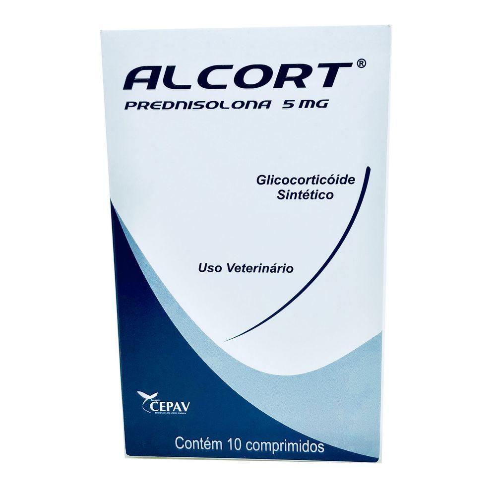 Anti-inflamatório Alcort 5 mg Cepav 10 comprimidos