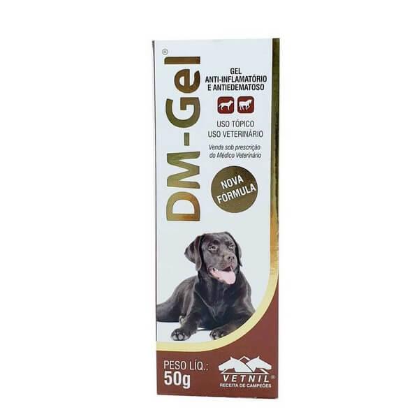 Anti-inflamatório DM Gel Vetnil Para Cães 50g