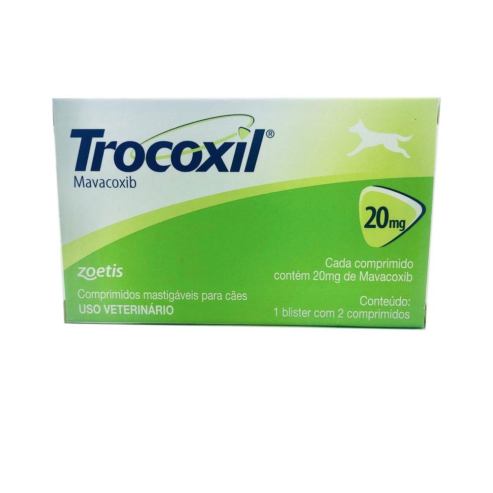 Anti-inflamatório Trocoxil Zoetis 20 mg